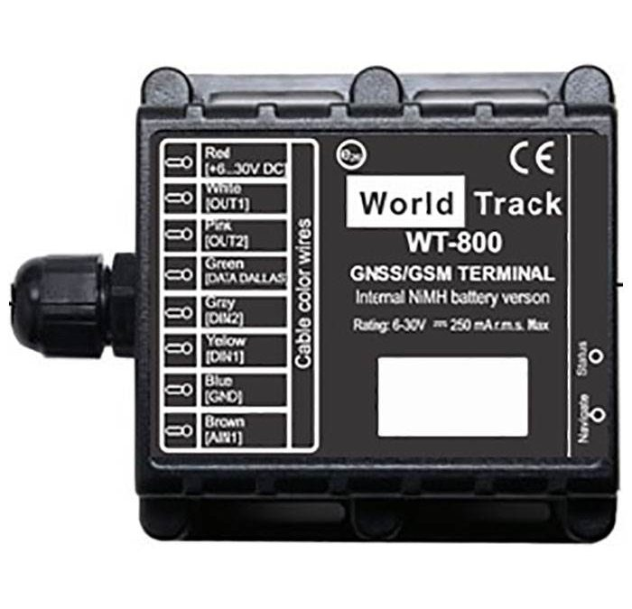 WT-800 GPS/GSM Tracker Med Backup Batteri.
